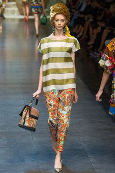 #Dolce & #Gabbana #Spring #Summer #2013 #Collection