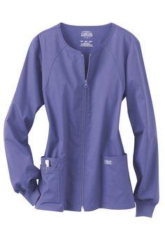 Cherokee Workwear Core Stretch scrub jacket.