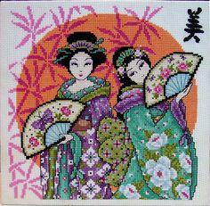 Two beautiful japanese girls by art-way.net, via Flickr