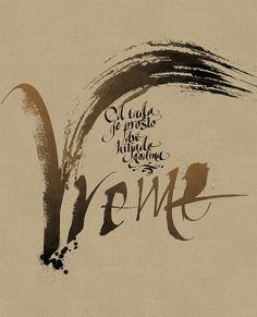 Calligraphy by Jelena Senicic Vilimanovic