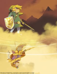 The Legend of Zelda-A World Divided by *HeavyMetalHanzo on deviantART