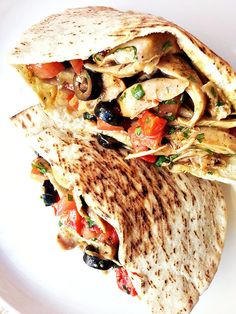 #HealthyRecipe / Moroccan chicken pita sandwich | The Man With The Golden Tongs Goes All Out On Health | Scoop.it