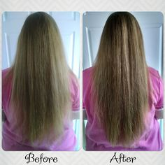 I see such a difference in the before and after. I've been using @LorealHair's #extraordinaryoil #extraordinaryhair for a couple of weeks and wow. My hair feels so much healthier, it's easier to manage, and looks healthier. Thanks @influenster #gotitfree #spon4loreal
