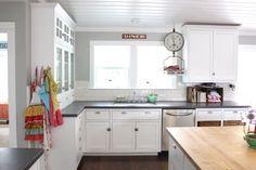 white craftsman kitchen