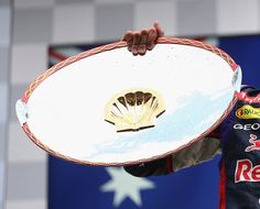 Spa GP Belgiumn 2014 Winners Trophy