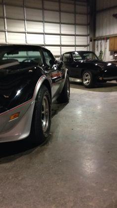 1978 Corvette Pace Car less than 6,000 miles   1964 black on black Corvette Coupe