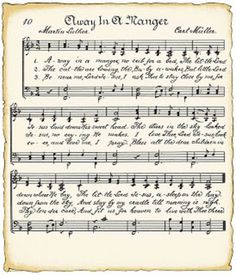 Gratis vintage muziek papier downloaden om mee te decoreren nog veel meer leuke plaatjes  orgineel van http://vintagefeedsacks.blogspot.nl/search/label/Christmas