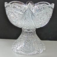 ABP Cut glass punch bowl  American brilliant period 1886 - 1916 Crystal Vase, Crystal Gifts, Cut Glass, Glass Art, Punch Bowl Set, Glass Chandelier, Some Ideas, Pressed Glass, Antiquities