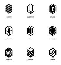 Logo / Identity / Line Illustration Series on the Behance Network — Designspiration