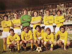 FC Nantes of France team group in Football Cards, Football Players, Fc Nantes, France Team, Everton Fc, Vintage Football, Forever, Michel, Dream Team
