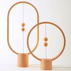 Coup de cœur : Des luminaires en bois magnétiques