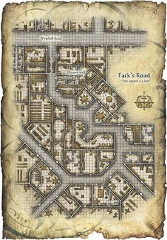 Image result for D&D Underground City map | D&D Maps in 2019 | Map on