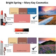 Mary Kay - Bright Spring Looks #1 and #2
