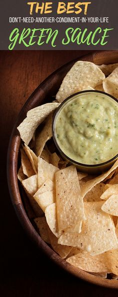 The best Green Sauce (salsa verde) you'll ever need. With an emphasis on fresh ingredients, this tastes far better than anything you'll find in the store.