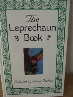 The LEPRECHAUN Book  Vintage book of by rosiesrecycledcrafts
