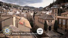 GRANADA   CENTRO   Vistas inéditas de la Alhambra y Albaicín desde Real Chancilleria. 3/3