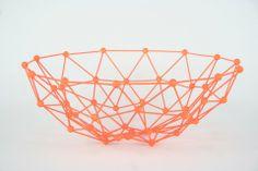 Stuffdesign trådkurv i 5 neon farver