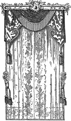Lace Curtains Stock Image! - The Graphics Fairy