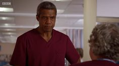 Ric Griffin - Hugh Quarshie 18.45 Holby City, Mens Tops, T Shirt, Fashion, Supreme T Shirt, Moda, Tee Shirt, Fashion Styles, Fashion Illustrations