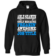 Able Seamen T-Shirts, Hoodies. ADD TO CART ==► https://www.sunfrog.com/Funny/Able-Seamen--Limited-Edition-7968-Black-Hoodie.html?id=41382