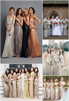 Ideas and Inspiration for Dressing Your Bridesmaids