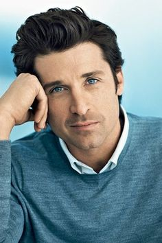 Patrick Dempsey - Patrick Galen Dempsey is an American actor, known for his role as neurosurgeon Dr. Derek Shepherd on the medical drama Grey's Anatomy. Prior to Grey's Anatomy he made several television appearances and was nominated for an Emmy Awar Gorgeous Men, Beautiful People, You're Beautiful, Hello Gorgeous, Dark Hair Blue Eyes, Derek Shepherd, Actrices Hollywood, Grace Kelly, Famous Faces