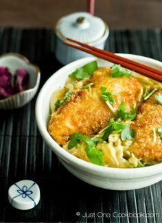 Chicken Katsu Don | Easy Japanese Recipes at JustOneCookbook.com @justonecookbook