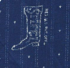Stifel Textiles Indigo-dyed cotton made in West Virginia from 1835 to 1956