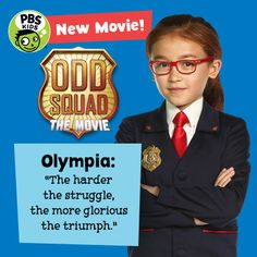 Monday, August 1. Odd Squad: The Movie on PBS KIDS!