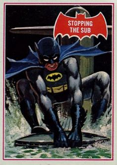 'Batman' 1966 Topps Trading Cards by Norman Saunders. Batman Tv Show, Batman Comic Books, Comic Books Art, Comic Art, Batman 1966, Batman Art, Batman And Superman, Batgirl And Robin, Batman Robin