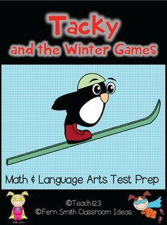 Test Prep: Tacky and the Winter Games - FREE lessons that will help prepare your 2nd and 3rd grade students for standardized test.  This is also a great addition to your lessons about the Olympics.