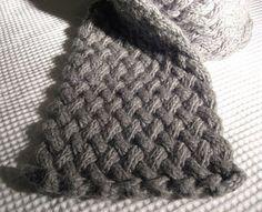 Matilda scarf - free pattern http://thecakeplate.blogspot.com/2008/07/matilda-winter-scarf.html