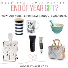 The search for that perfect Year End gift is already on and we are full of ideas! We've launced our EOY 2016 catalogue and you can view it on our website, along with our other great ideas. You're welcome! ;-)