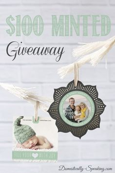 $100 Minted Giveaway
