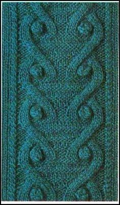 WOVEN TWO-NEEDLE - KNIT PATTERNS = GRAPHICS = ALL FREE: NICE COLLECTION OF KNITTING WITH TWO NEEDLES, KNIT