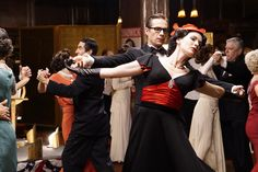"""Dottie & Jarvis Crash Calvin Chadwick's Party in New """"Agent Carter"""" Photos"""