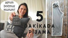 5 Dakikada Çok Kolay Pijama Dikimi / Pijama Nasıl Dikilir  /Esma'nın Dikiş Atölyesi - YouTube Sewing Hacks, Fitness Inspiration, Youtube, Videos, Cake Recipes, Sportswear, Sleep, Diy, Babydoll Sheep