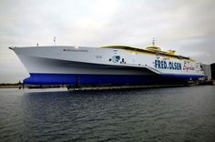 The Benchijigua Express -Largest Trimaran Ferry