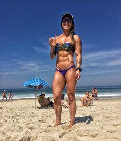 onlybeachgirls: Carolinne Hobo ... - Only Ripped Girls