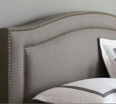 Tamsen Curved Upholstered Headboard from Pottery Barn
