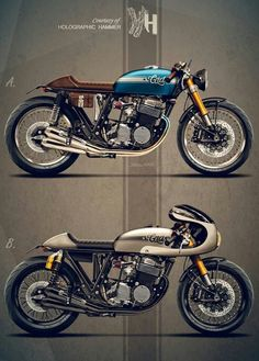 Honda CB750 by Holographic Hammer for Cafe Racer Dreams
