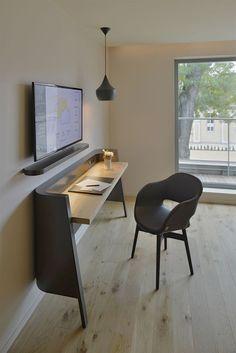 Home Office Decor Inspiration Table Furniture, Furniture Design, Deco Studio, Hotel Concept, Hotel Interiors, Luxury Interior Design, Furniture Inspiration, Room Interior, Home Office