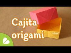 Como hacer Caja Origami BASICA y FACIL - YouTube
