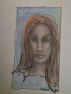 The woman-drawing.