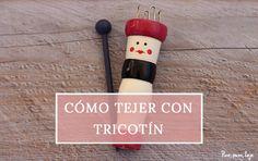 Cómo tejer con tricotín