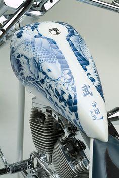 Munewari3 hermoso trabajo en motos