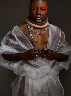 King of the drama queens, Charly Boy releases new scary photos..