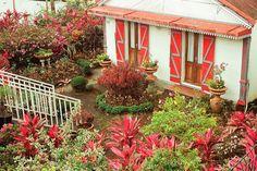 Maison créole, Reunion Island