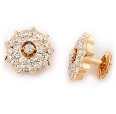 Geranium Platinum Earrings Carat Place Diamond Pinterest