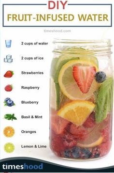 Source: timeshood.com  #wittyvows #bridetobe #detoxdrinks #detoxjuices #detoxsmoothierecipes #detoxwater #detoxwater #stayhome #staysafe #stayhealthy #potd #diy #trending Fruit Diet Plan, Best Cleanse, Detox Smoothie Recipes, Fruit Infused Water, Fat Burning Detox Drinks, Easy Detox, Natural Detox, How To Stay Healthy, Fruit Infuser
